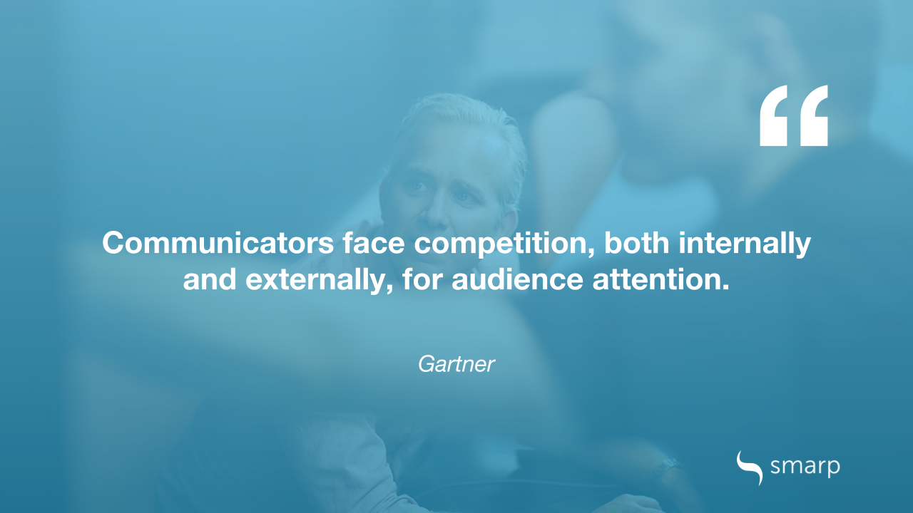 Gartner on the most common business communication challenges