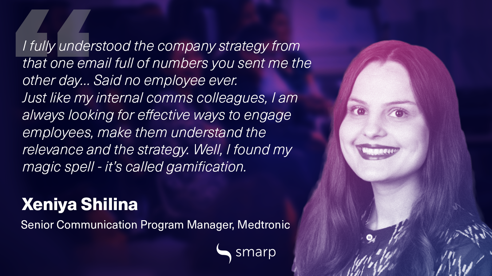 Xeniya Shilina on how to engage employees in the workplace with great internal comms