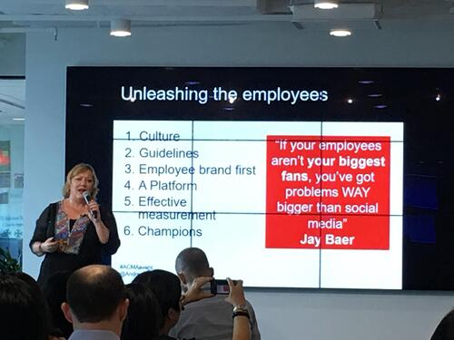 Andrea Edwards on employee advocacy