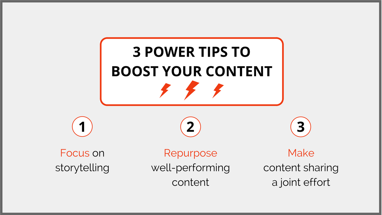 3 Power Tips to Boost Your Content