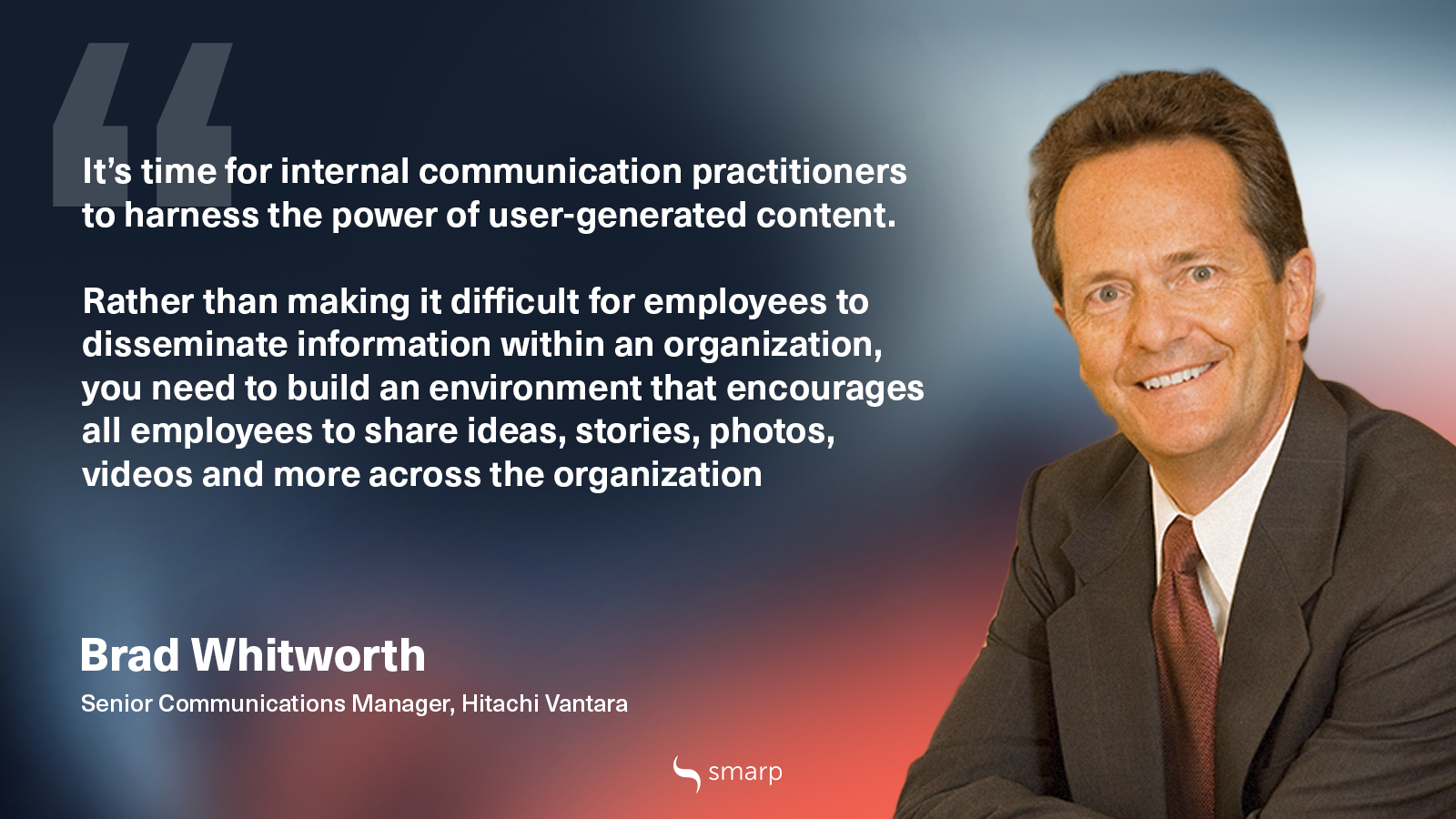 brad whitworth shares his internal communication best practices