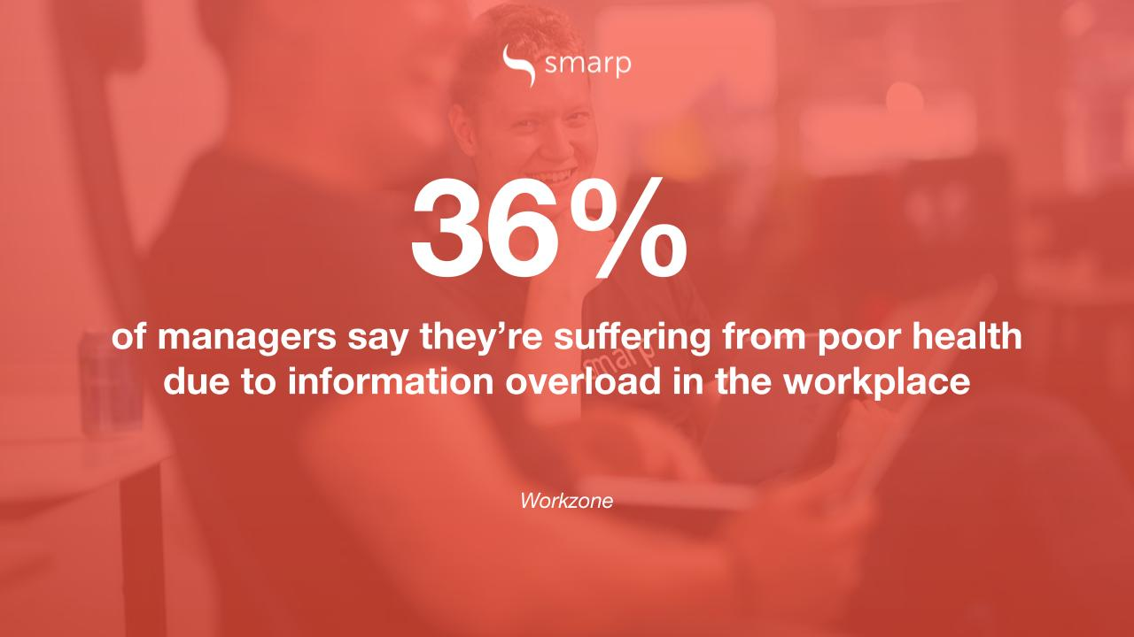 information overload affects employees' health