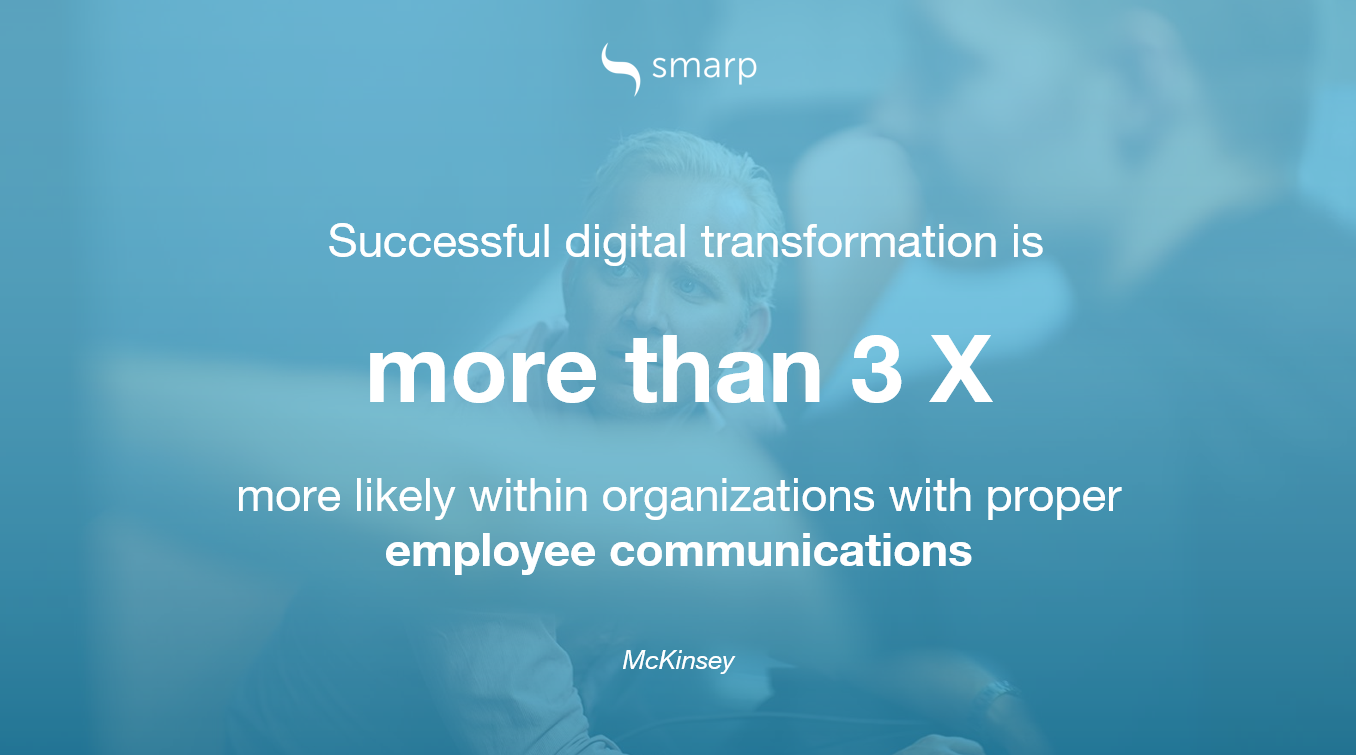 digital transformation and employee communications
