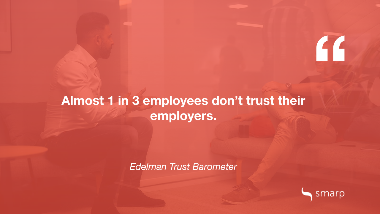 employee engagement and trust in the workplace Edelman Trust Barometer