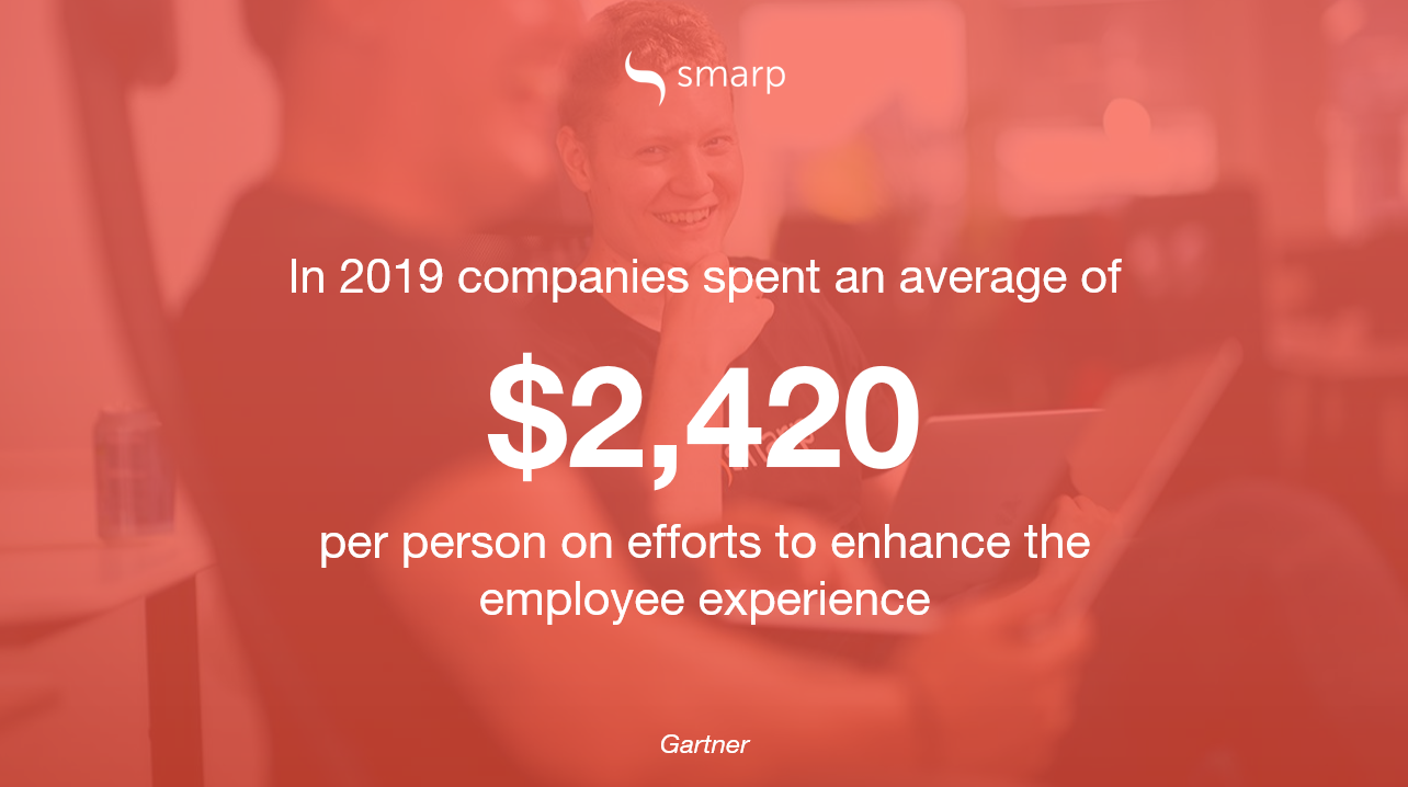 employee-experience-strategy-spending-stats