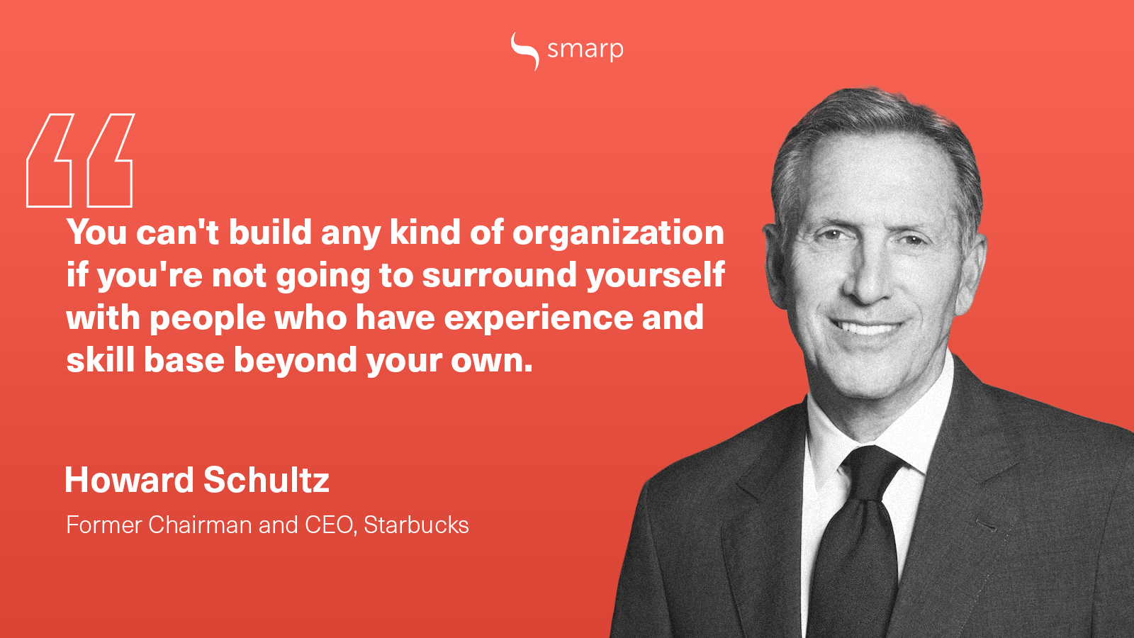 howard schultz on being a successful leader