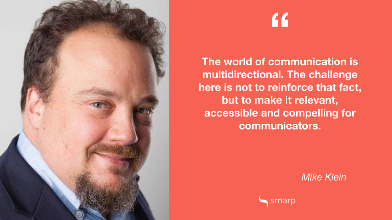 Top reasons why internal communication is multidirectional by Mike Klein