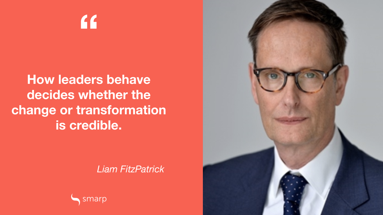 Liam FitzPatrick on the importance of leadership communication in change management