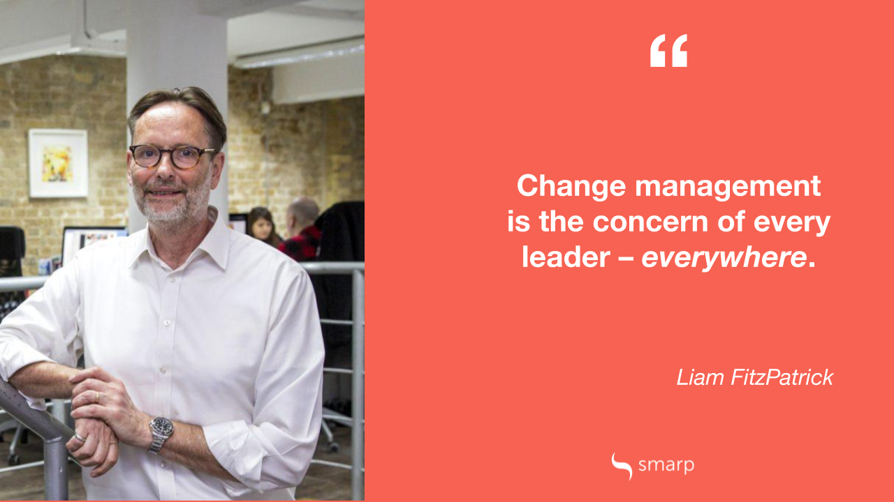 Liam FitzPatrick explains why line managers play a critical role in change management