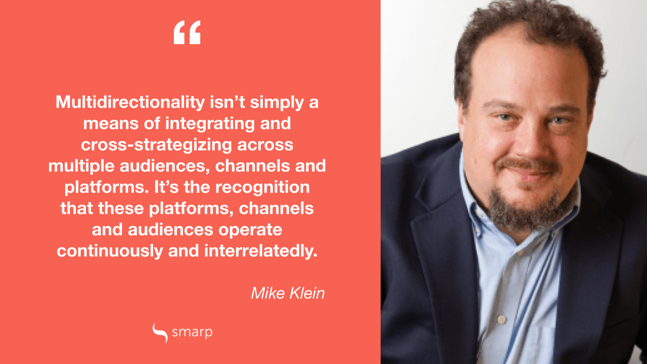 mike klein on why internal communication is multidirectional