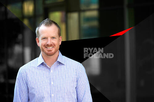 Ryan Foland personal branding gives Twitter tips