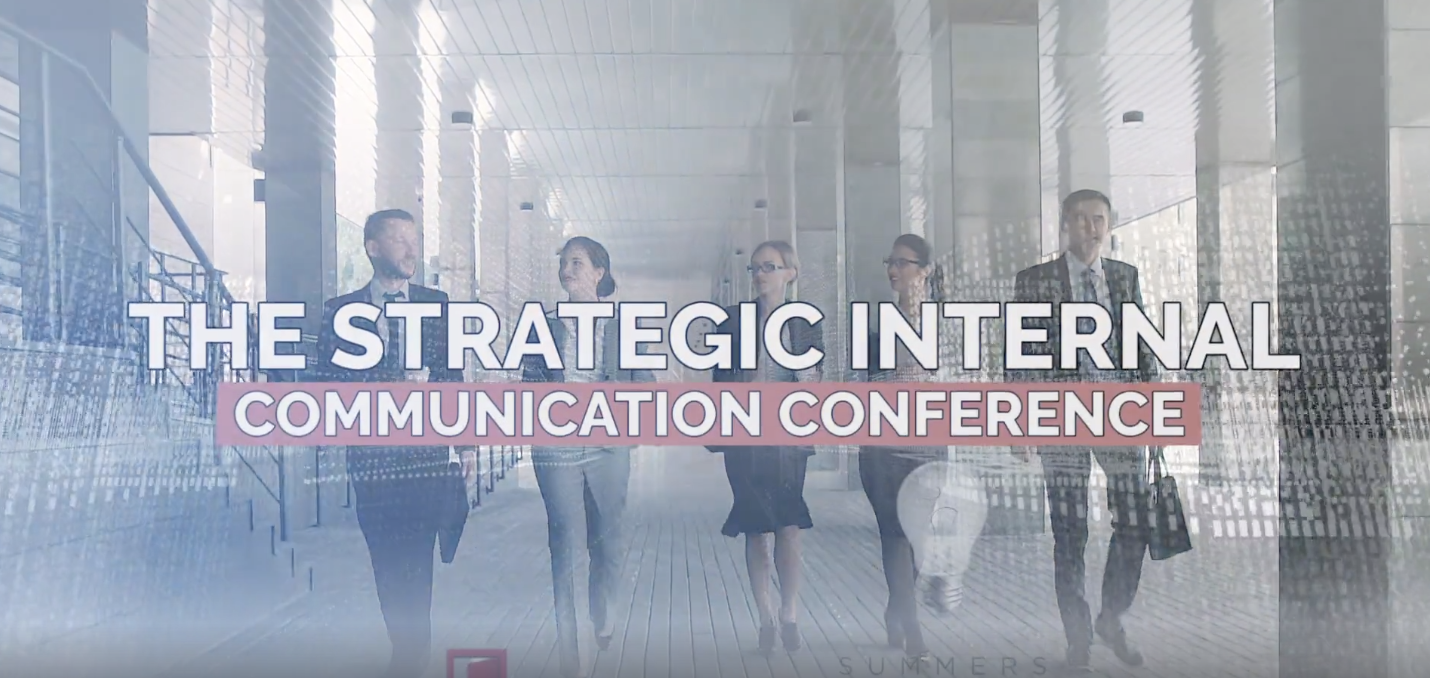 the strategic internal communication conference in Toronto